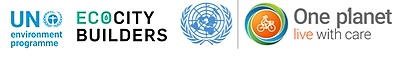 UNEP, Ecocity Builders, One Planet Network logo